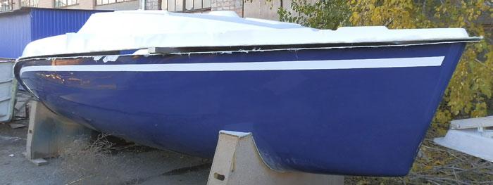 Кит-набор яхты